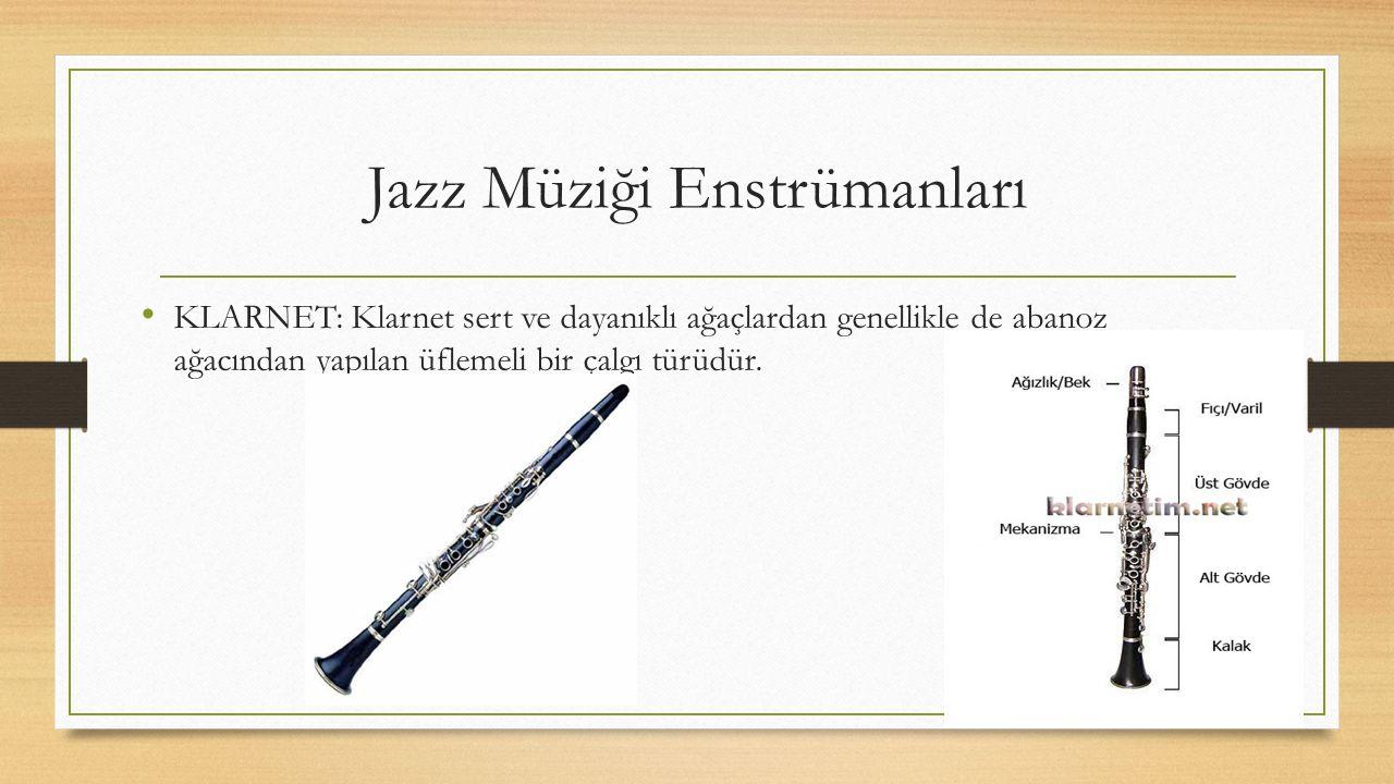 Jazz Müziği Enstrümanları