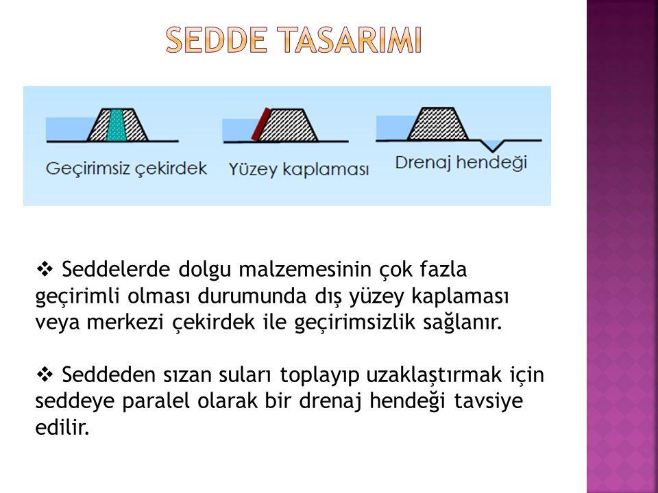 SEDDE TASARIMI
