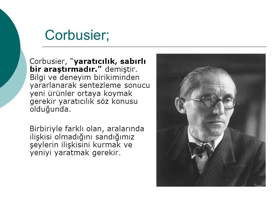 Corbusier;