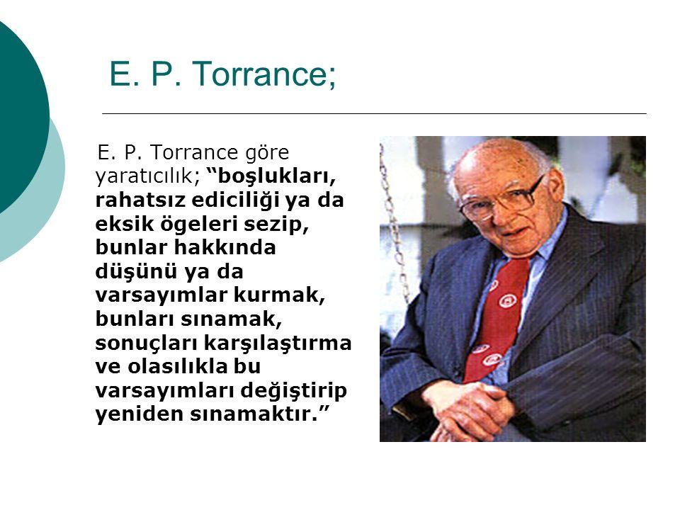 E. P. Torrance;