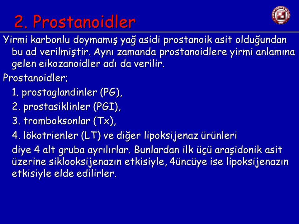 2. Prostanoidler