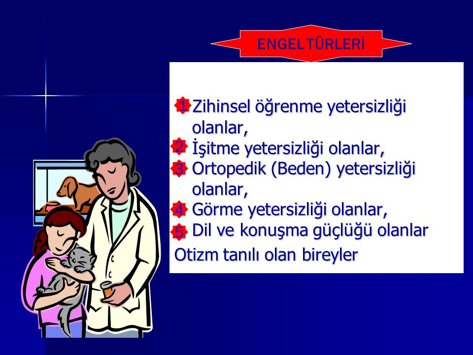 ENGEL TÜRLERİ