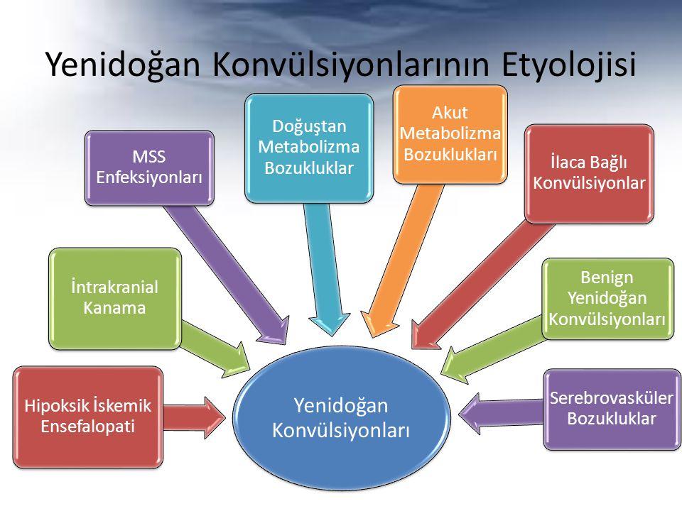 Yenidoğan Konvülsiyonlarının Etyolojisi