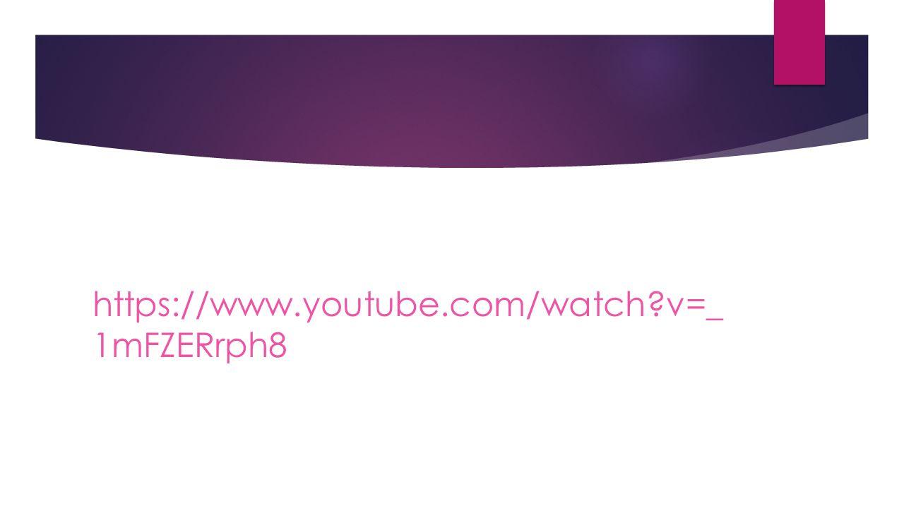 https://www.youtube.com/watch v=_1mFZERrph8