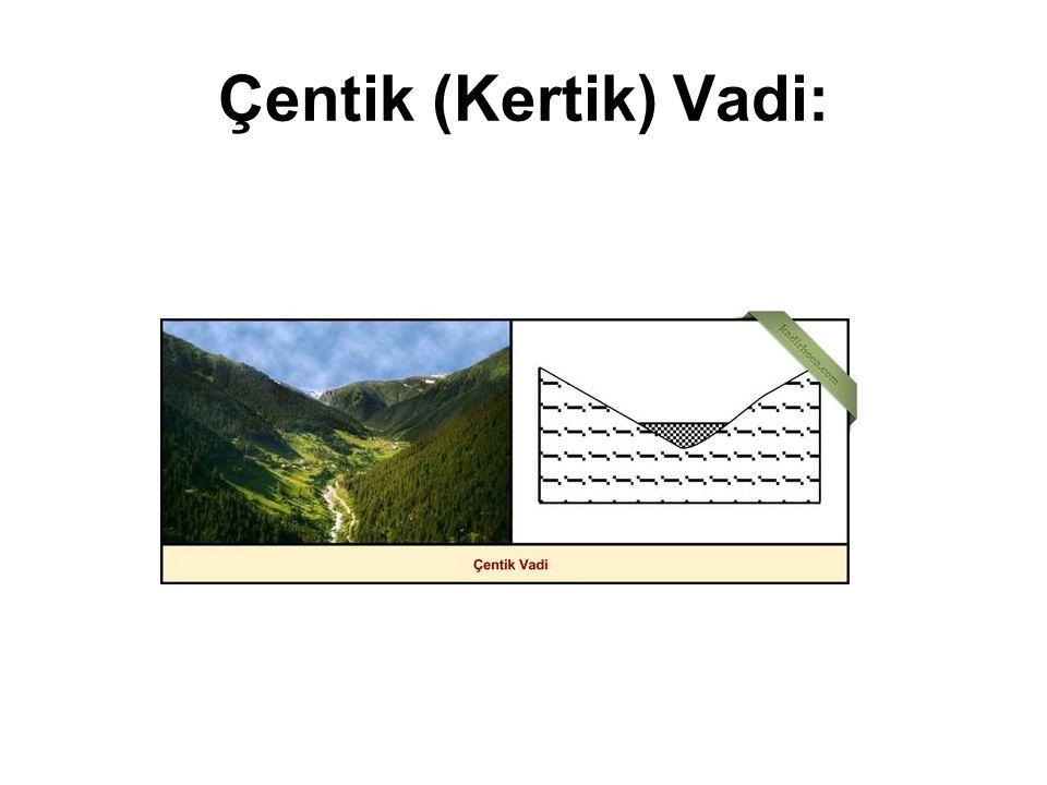 Çentik (Kertik) Vadi: