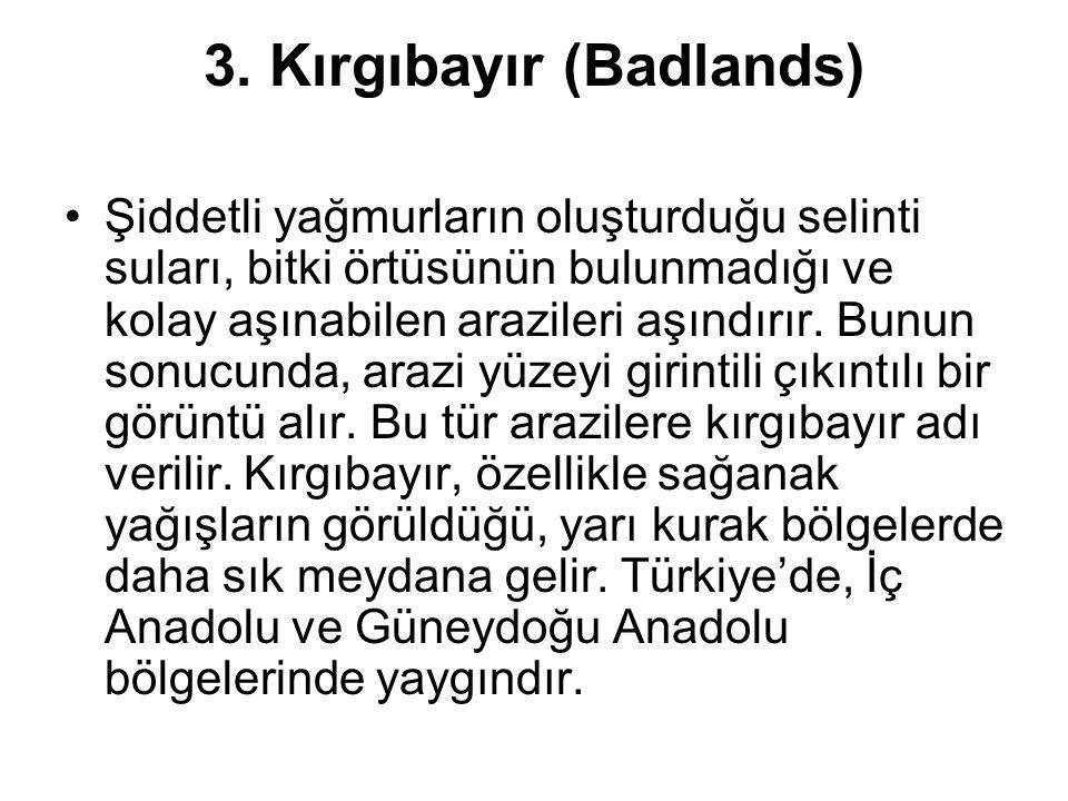 3. Kırgıbayır (Badlands)