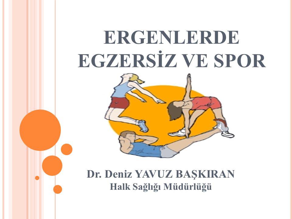 ERGENLERDE EGZERSİZ VE SPOR