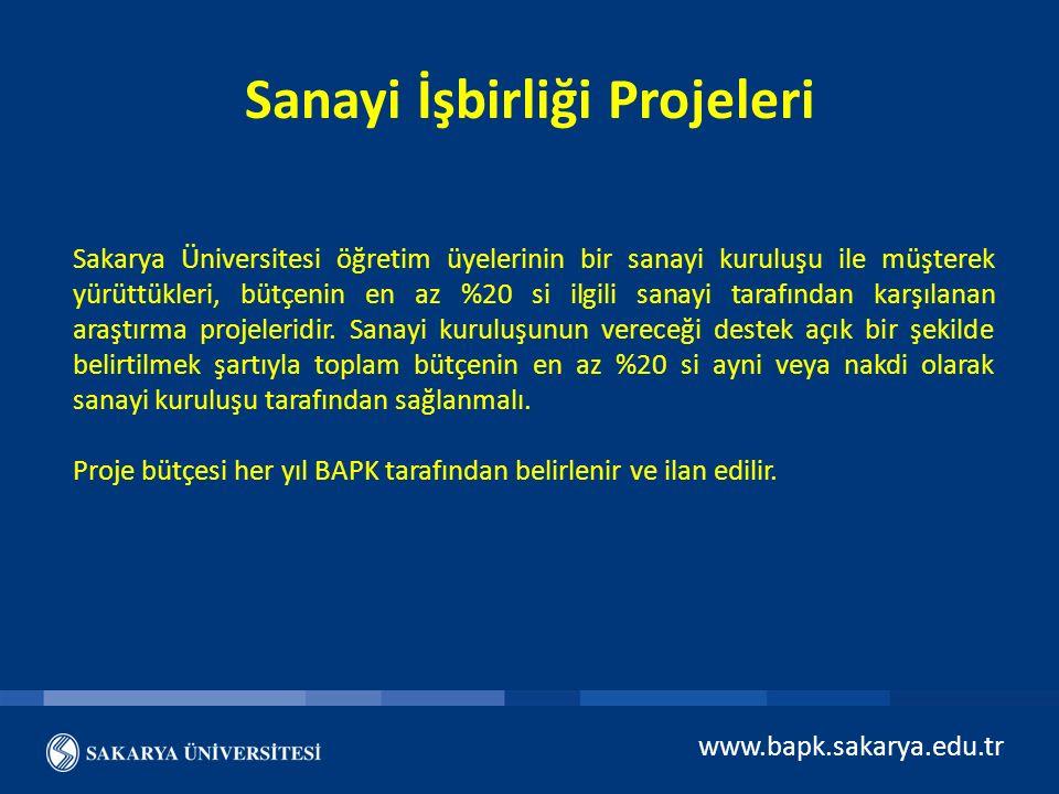 Sanayi İşbirliği Projeleri