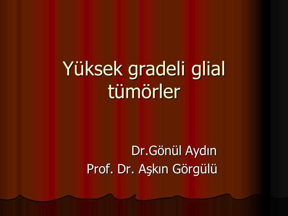 Yüksek gradeli glial tümörler