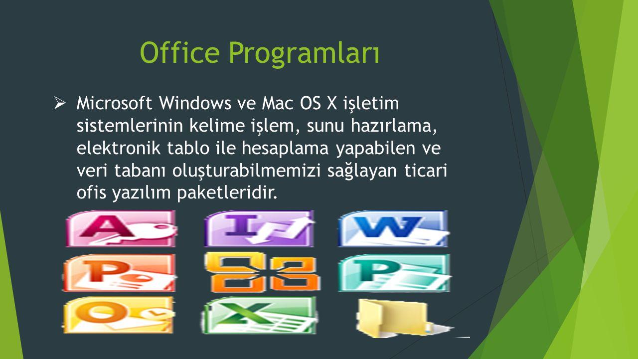 Office Programları