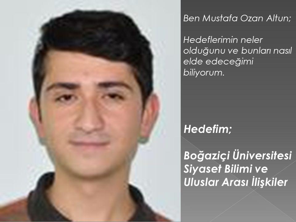 Boğaziçi Üniversitesi Siyaset Bilimi ve Uluslar Arası İlişkiler