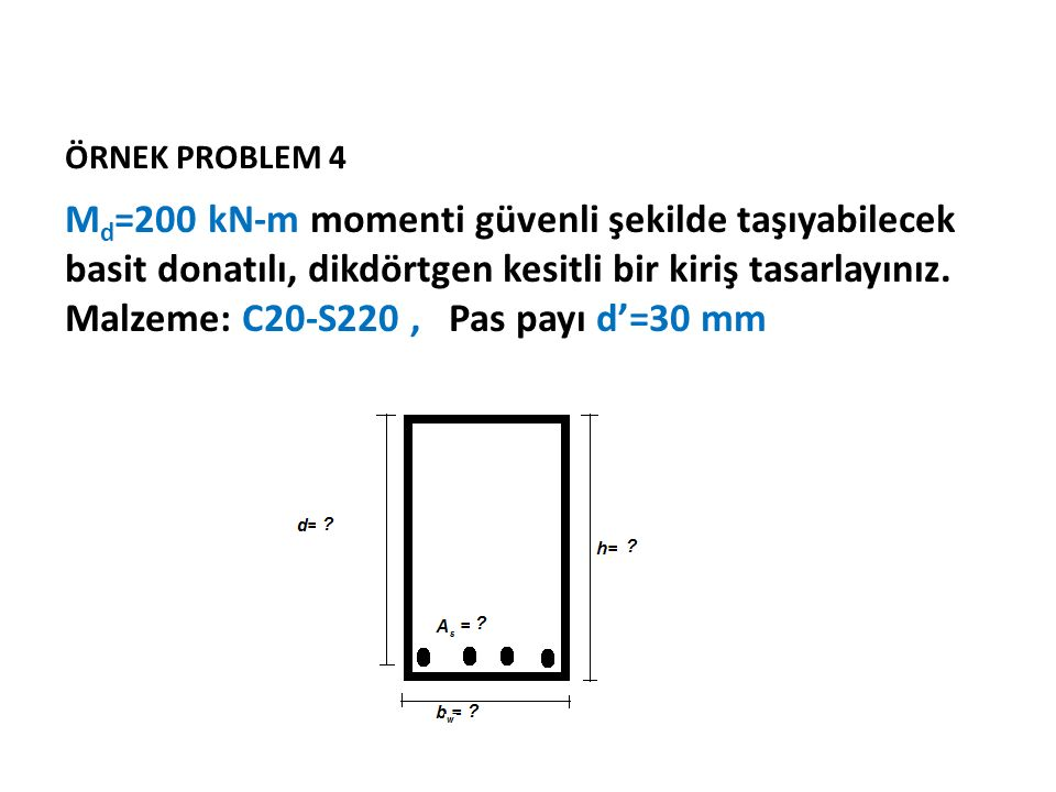 ÖRNEK PROBLEM 4
