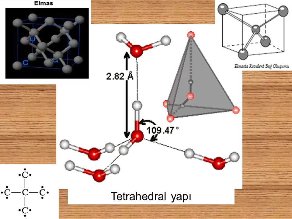 Tetrahedral yapı 21