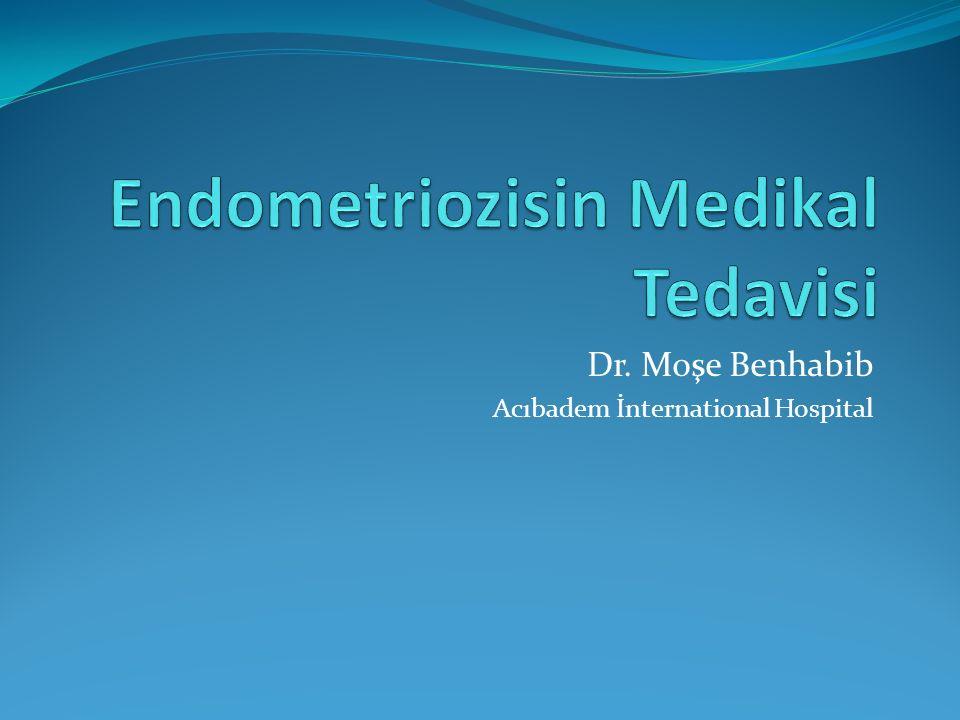 Endometriozisin Medikal Tedavisi
