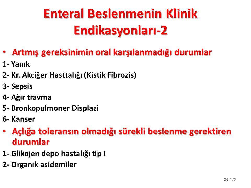 Enteral Beslenmenin Klinik Endikasyonları-2