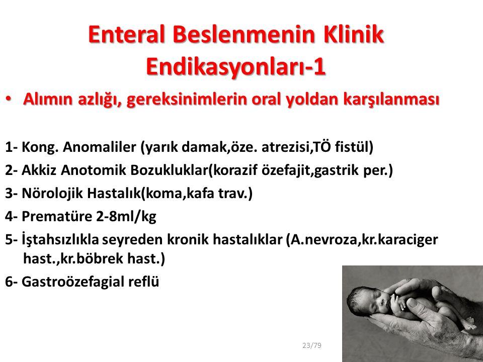 Enteral Beslenmenin Klinik Endikasyonları-1