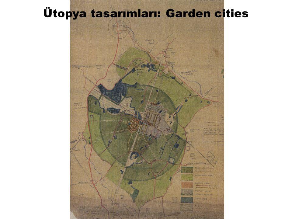 Ütopya tasarımları: Garden cities