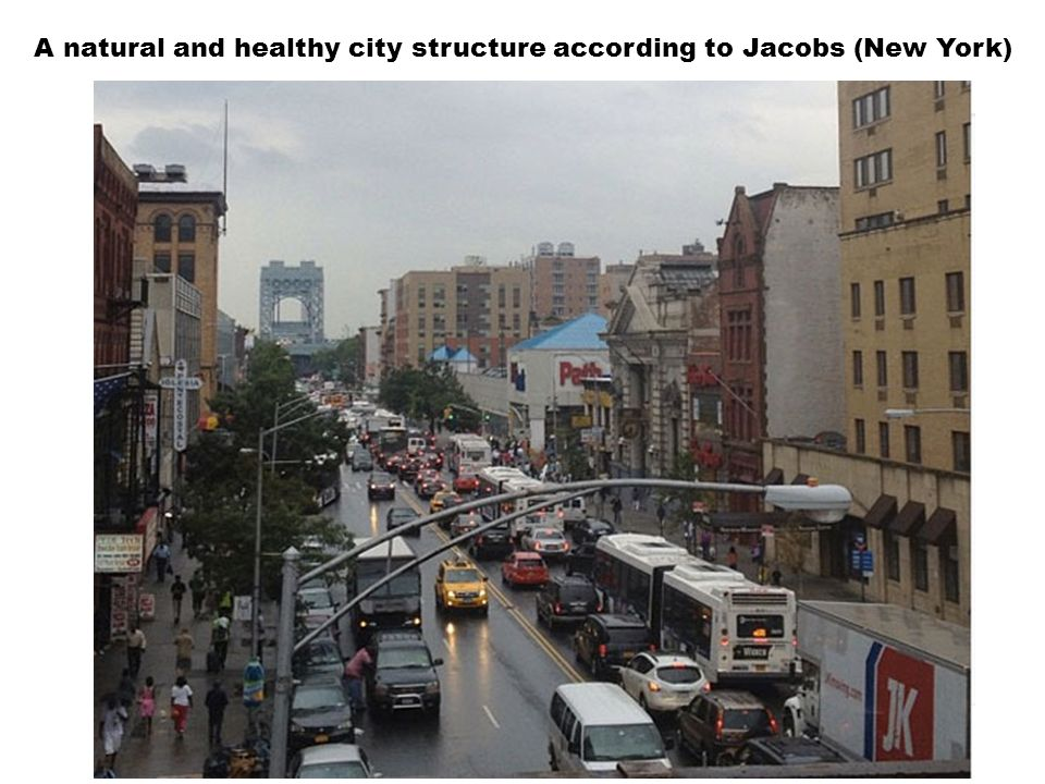 A natural and healthy city structure according to Jacobs (New York)