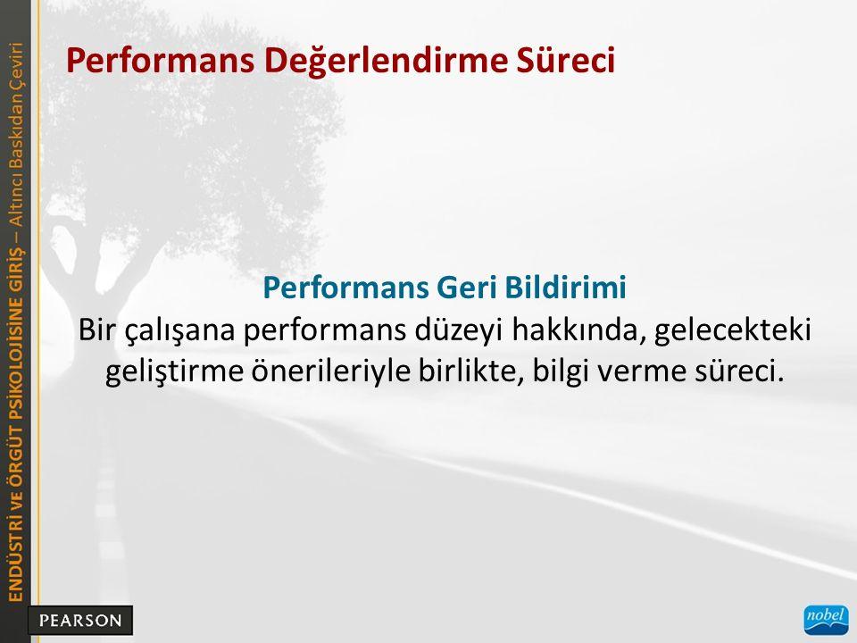 Performans Geri Bildirimi