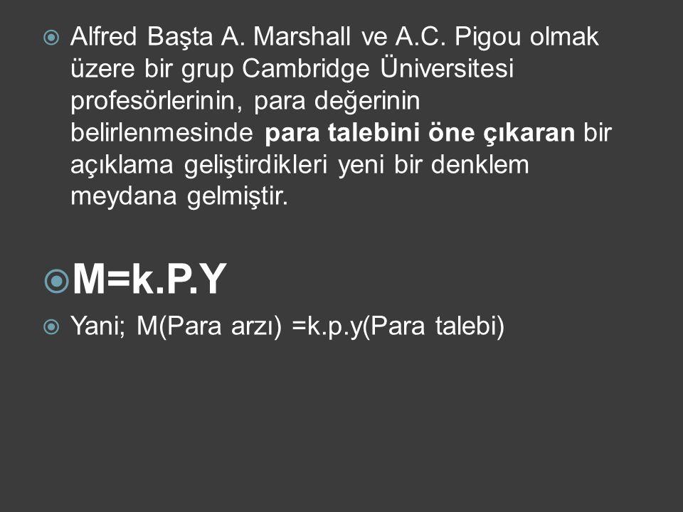 Alfred Başta A. Marshall ve A. C