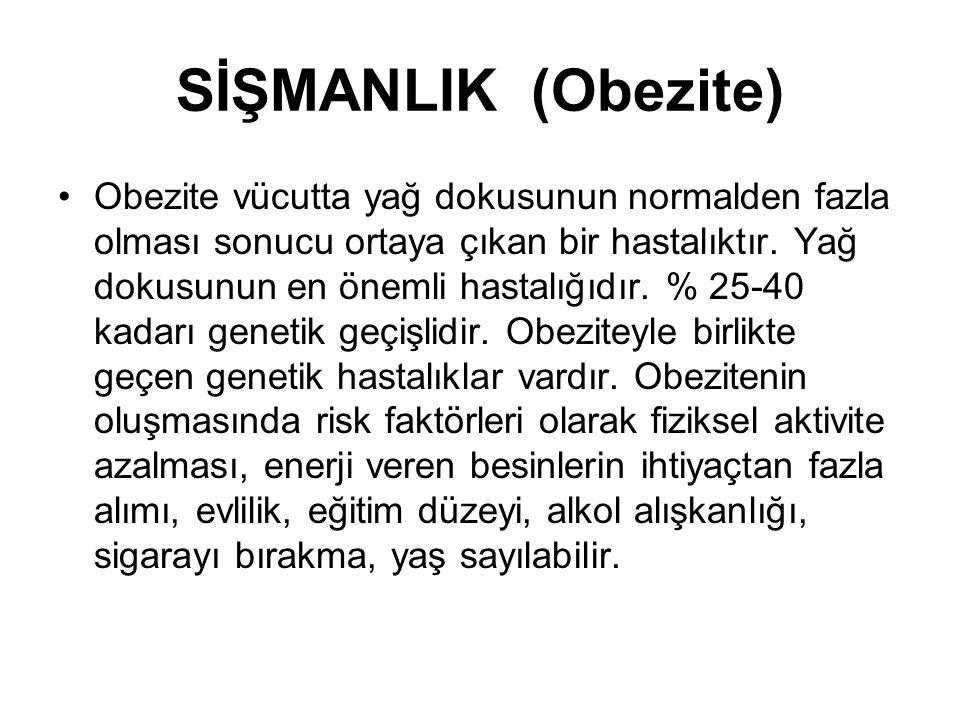 SİŞMANLIK (Obezite)