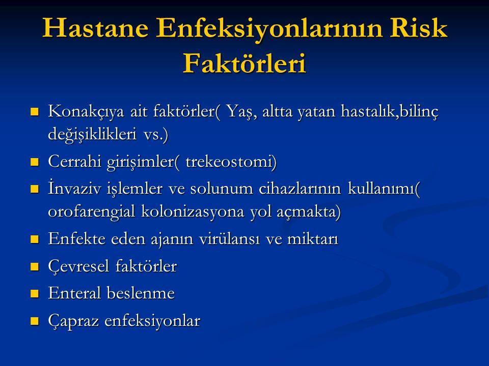 Hastane Enfeksiyonlarının Risk Faktörleri