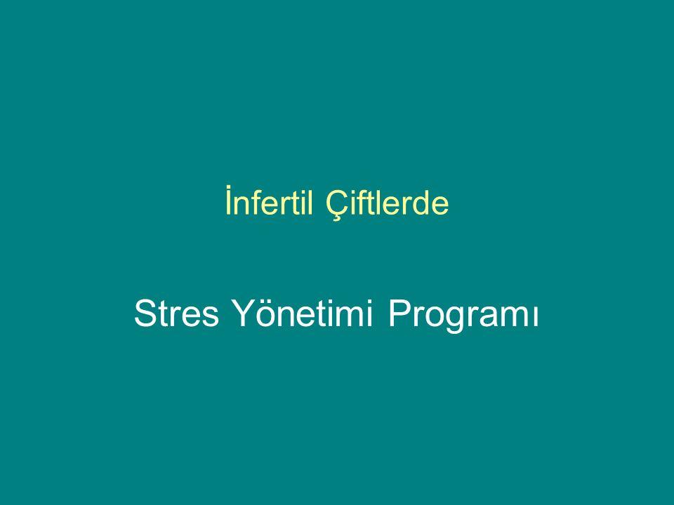 Stres Yönetimi Programı