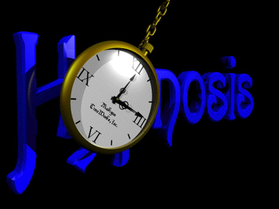 Hipnoz, çoğumuzun zihninde böyle bir sarkaçla uyutmak ve bilincin bir süre için kaybedilmesi gibi biraz korkutucu bir izlenim olarak canlanmaktadır.
