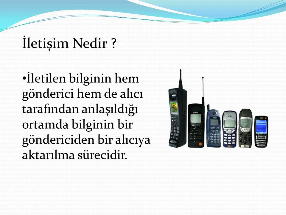 İletişim Nedir