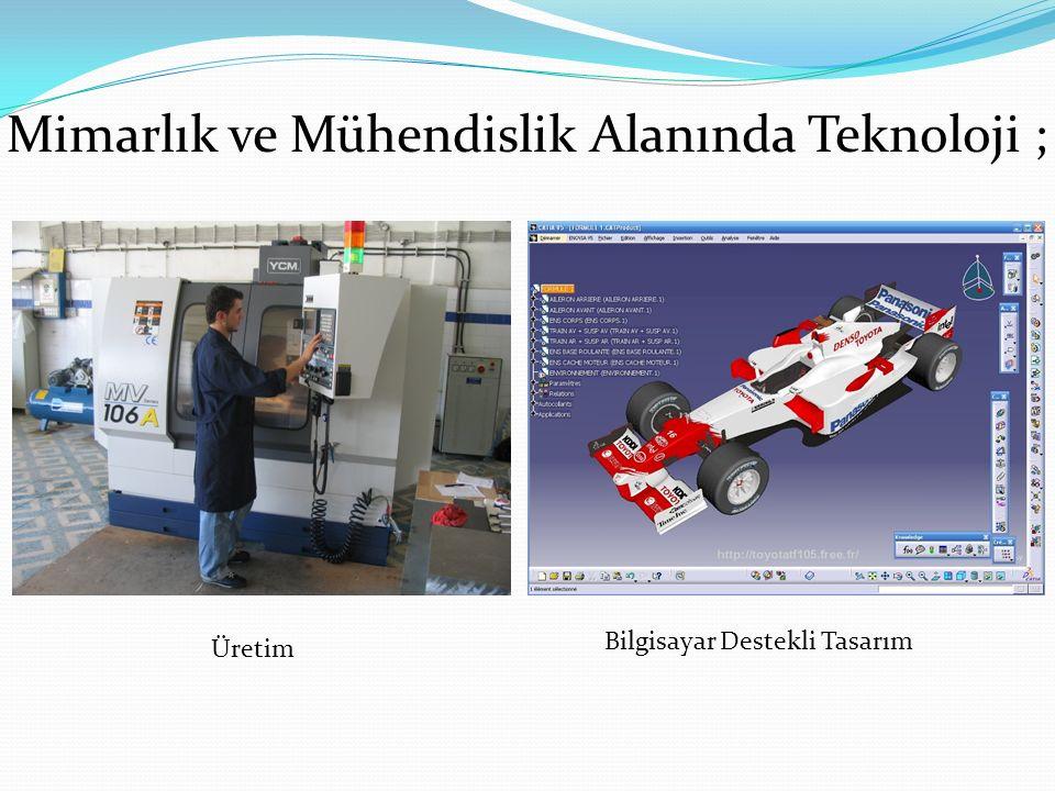 Mimarlık ve Mühendislik Alanında Teknoloji ;