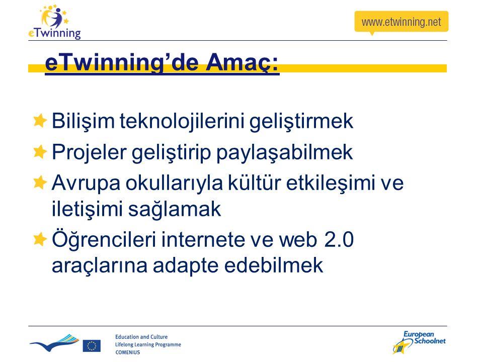 eTwinning'de Amaç: Bilişim teknolojilerini geliştirmek