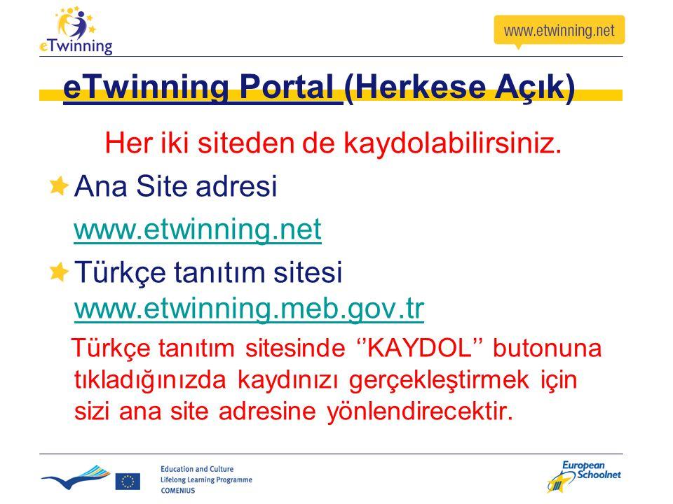 eTwinning Portal (Herkese Açık)