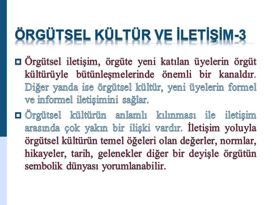 ÖRGÜTSEL KÜLTÜR VE İLETİŞİM-3