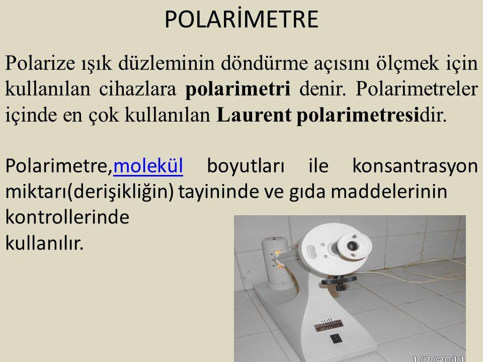 POLARİMETRE