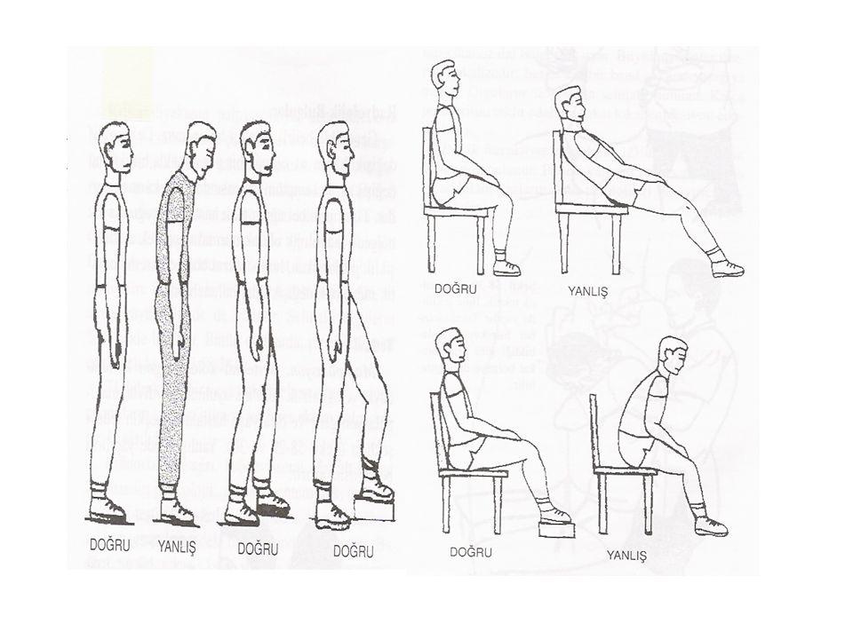Oturarak çalışma için iyi seçilmiş bir sandalye şarttır