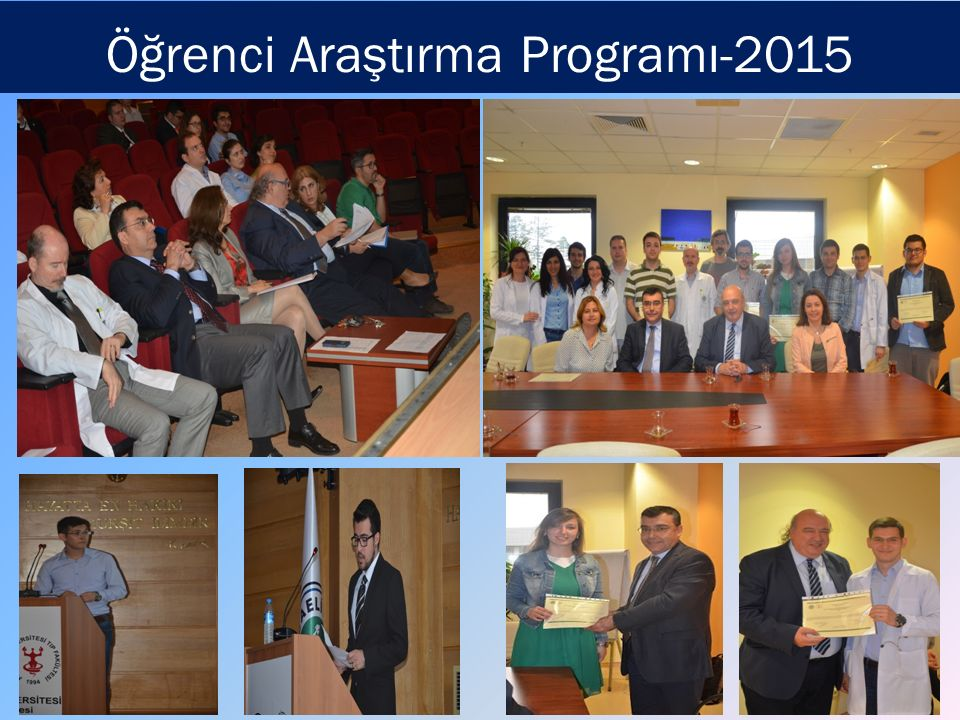 Öğrenci Araştırma Programı-2015