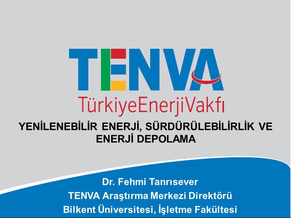 Yenİlenebİlİr Enerjİ, SürdürülebİlİrlİK ve enerJİ DEPOLAMA