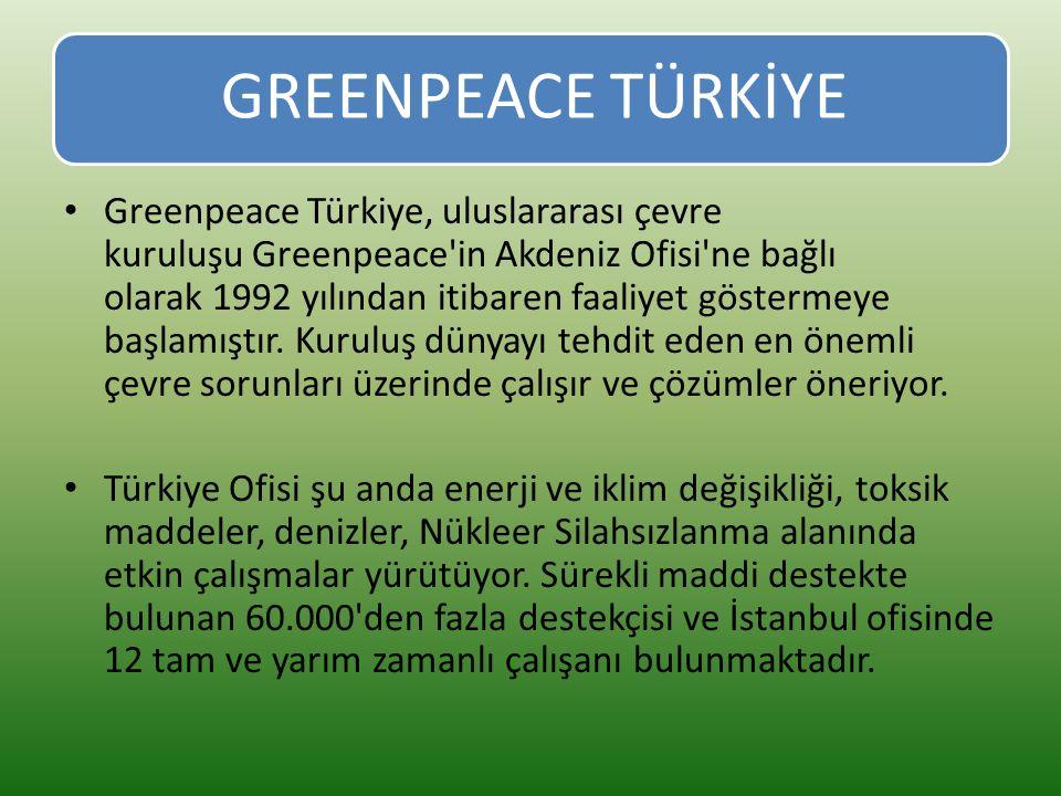 GREENPEACE TÜRKİYE
