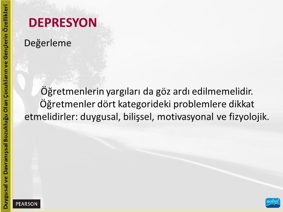 DEPRESYON Değerleme.