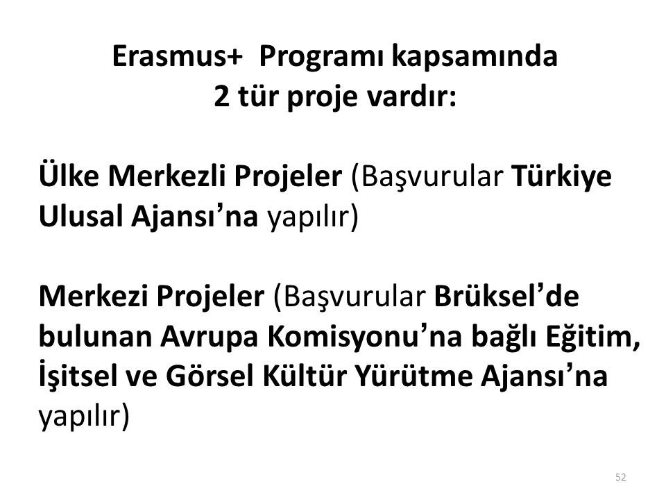 Erasmus+ Programı kapsamında