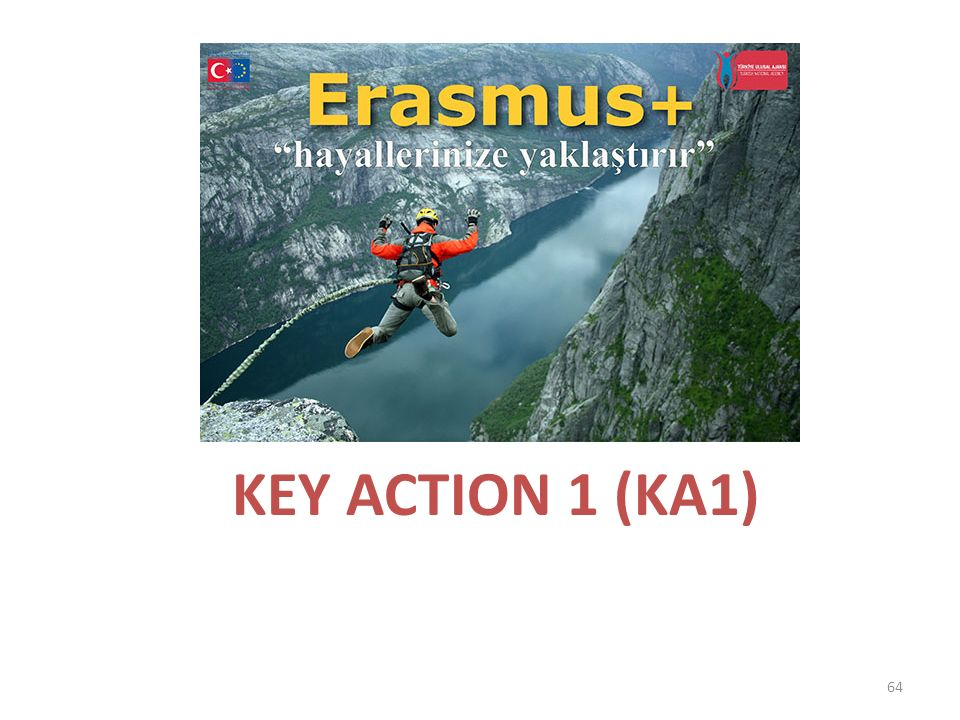 KEY ACTION 1 (KA1)