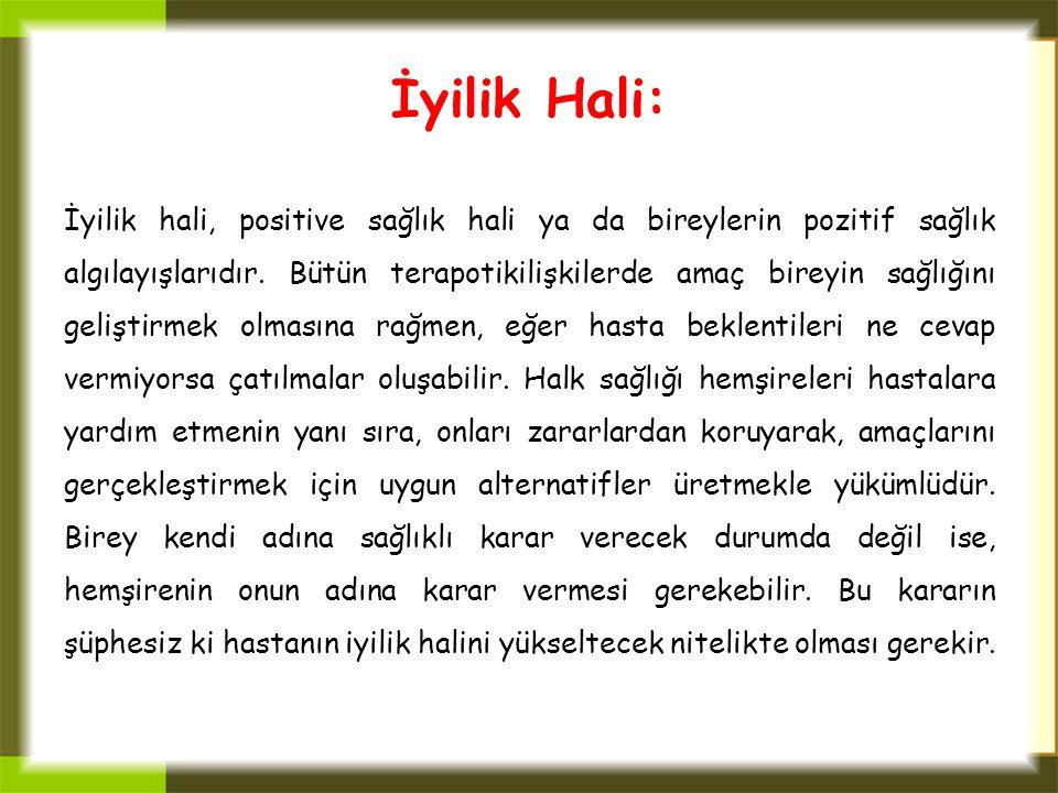 İyilik Hali: