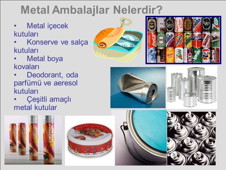 Metal Ambalajlar Nelerdir