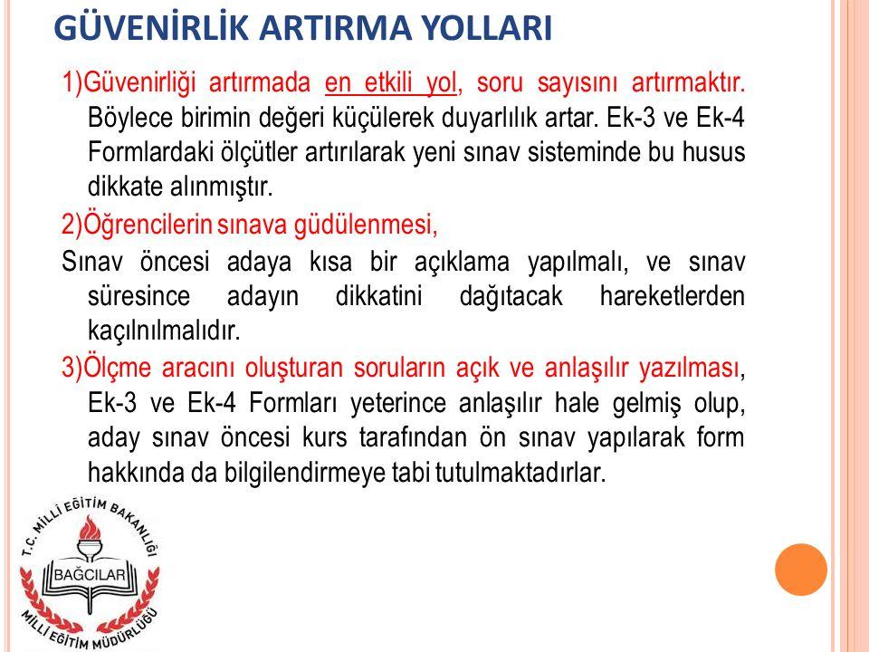 GÜVENİRLİK ARTIRMA YOLLARI