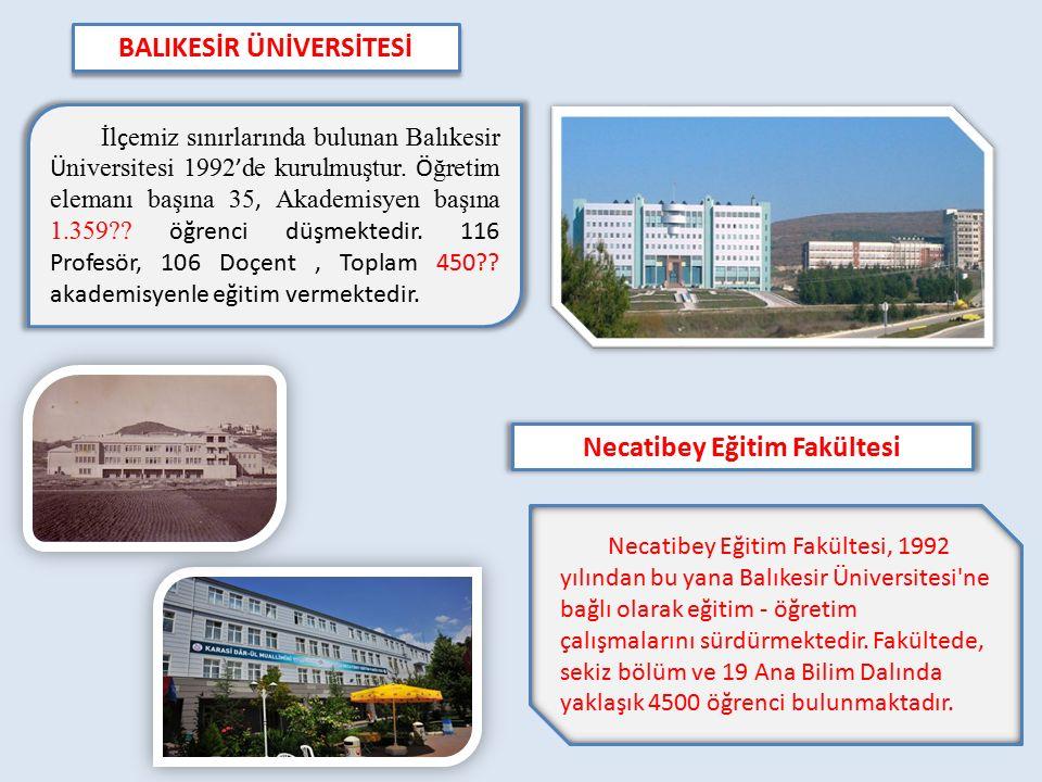 BALIKESİR ÜNİVERSİTESİ Necatibey Eğitim Fakültesi