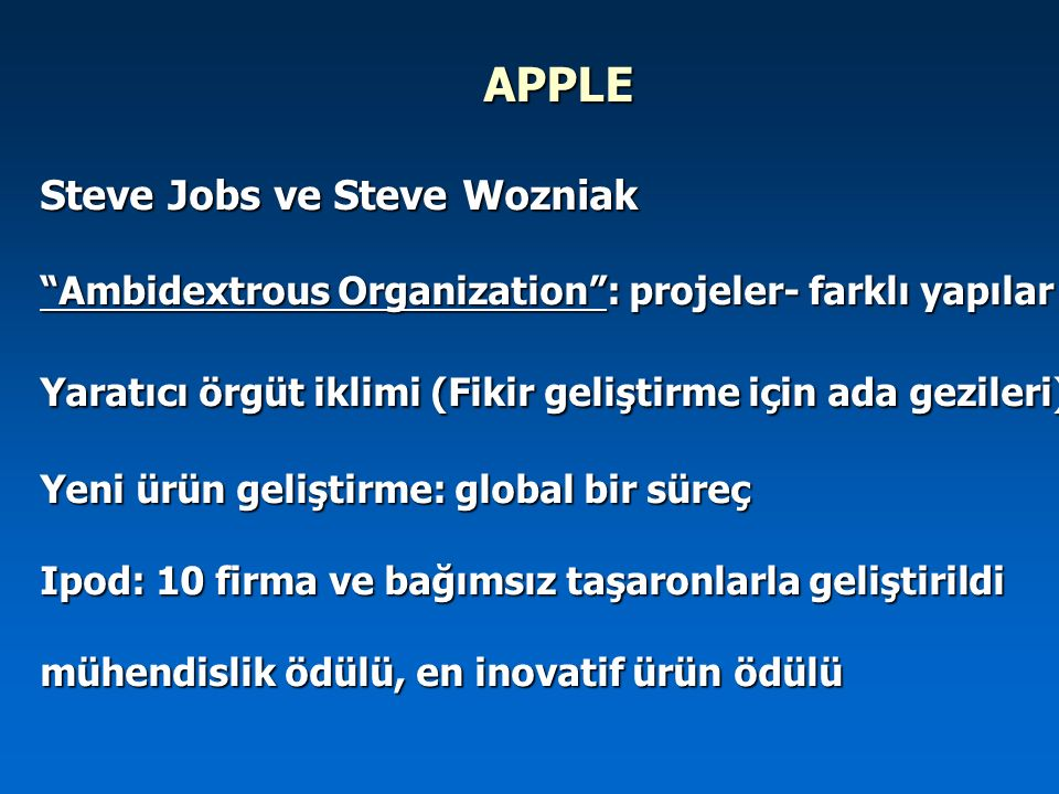 APPLE Steve Jobs ve Steve Wozniak