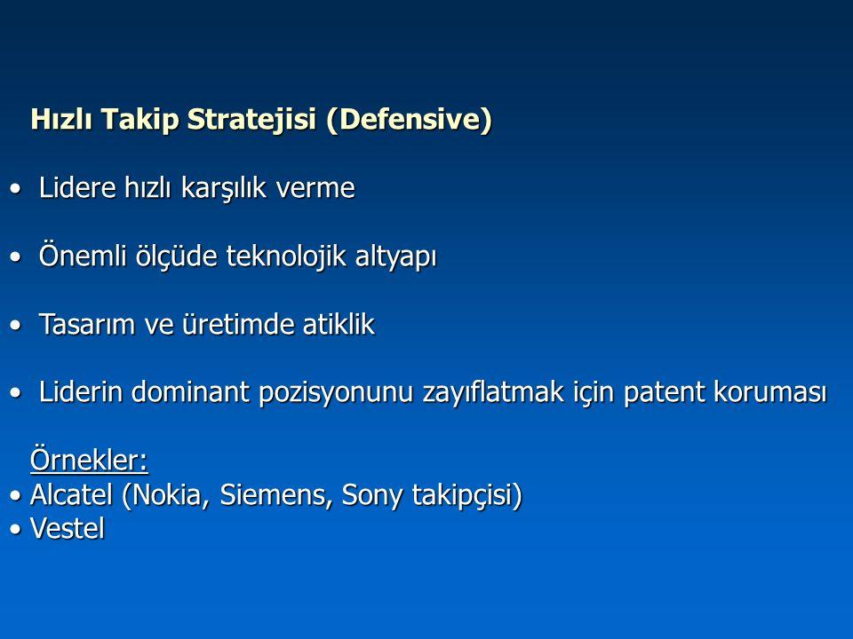 Hızlı Takip Stratejisi (Defensive)