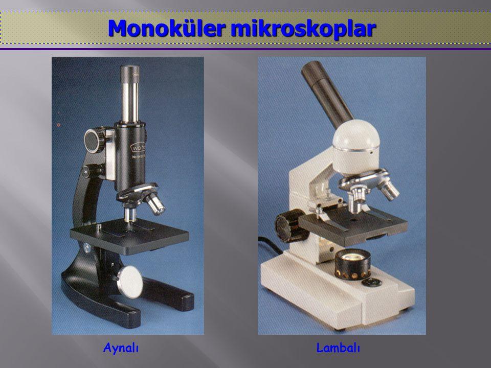 Monoküler mikroskoplar
