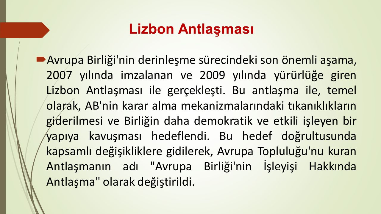 Lizbon Antlaşması