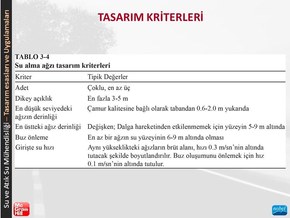 TASARIM KRİTERLERİ